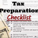 Emelia Mensa CPA's 2017 Tax Preparation Checklist